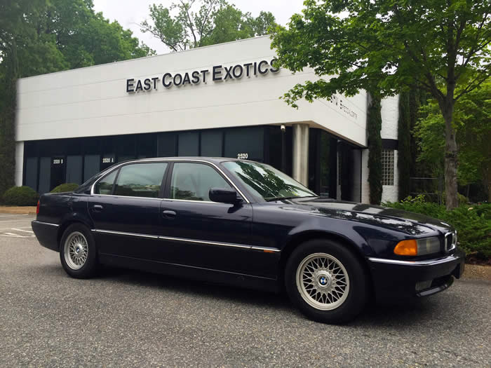 1997 Bmw 740il Blue